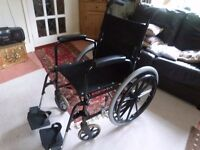 Manual self propelled wheelchair