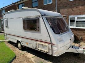 Sterling Eccles Jade 2 Birth Caravan with Truma Motor Mover Fitted
