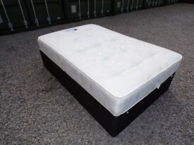 CAN DELIVER - SPACE SAVER 4FT SMALL DOUBLE BED WITH MATTRESS IN VERY GOOD CONDITION