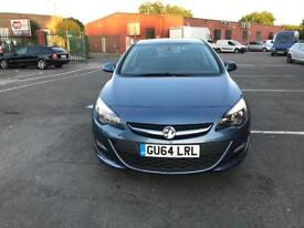Vauxhall Astra 1.4 2014 Low milage top Condition