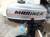 mariner 3.3hp outboard engine 2 stroke