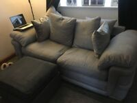Grey three seater sofa £750