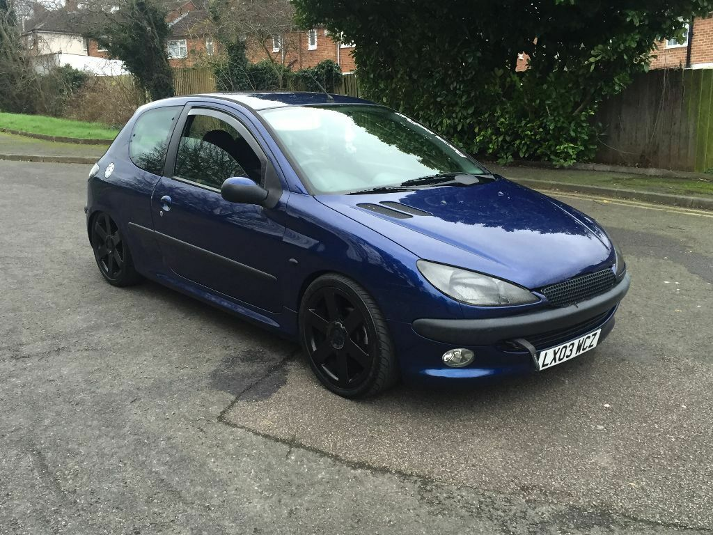 2003 peugeot 206 1 4 modified full 12 months mot in northampton northamptonshire gumtree. Black Bedroom Furniture Sets. Home Design Ideas