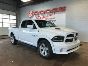 2015 Ram 1500 Sport, Heated Seats/Steering, NAV, Remote Start