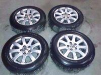 "MK5 VW GOLF PLUS LUNA TOURAN PASSAT JETTA 15"" ALLOY WHEELS WITH TYRES 5X112 /195/65/R15"