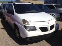 2002 Pontiac Aztek CALL 519 485 6050 CERT AND E TESTED