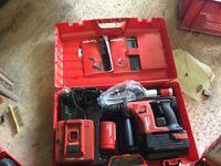 Hilti TE 6A 36 v cordless drill