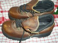 WORK BOOTS GENUINE DR. MARTENS, WATERPROOF SIZE 11 BOOTS NEW AND UNWORN