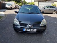 2004 Renault Clio 1.4 16v Expression 5dr Automatic @07445775115
