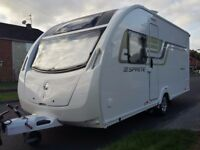 2015 Sprite Alpine 4 Touring Caravan for sale - excellent condition