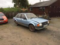 Ford Escort Mk3 parts