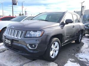 2015 Jeep Compass 4x4 * HIGH ALTITUDE * LEATHER * POWER SUNROOF