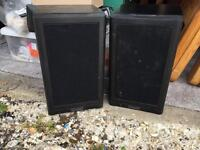 Pair of Mission Electronic Speakers