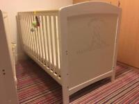Humphreys corner cotbed cot bed white