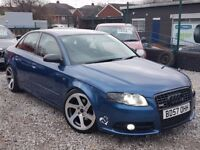 57 AUDI A4 1.9 TDI S LINE FULL HISTORY REMAPPED BY REVO PX WELCOME