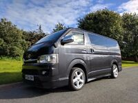 Toyota HiAce Jap Import - Sat Nav, reversing camera, DVD. Ideal camper conversion, alternative to T5