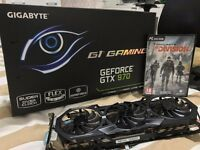 Gigabyte gtx 970 g1 gaming 4gb ( 256bit ) ddr5 gpu video card