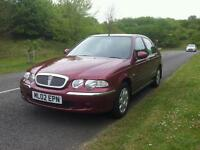 Rover 45, 35,000 miles, 6 speed automatic