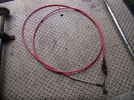 boat parts morse control cable