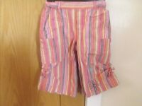 Girls Vertraudet Cropped Trousers Age 2