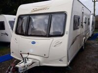 2007 Bailey Senator Indiana 4 Berth Fixed Bed Caravan