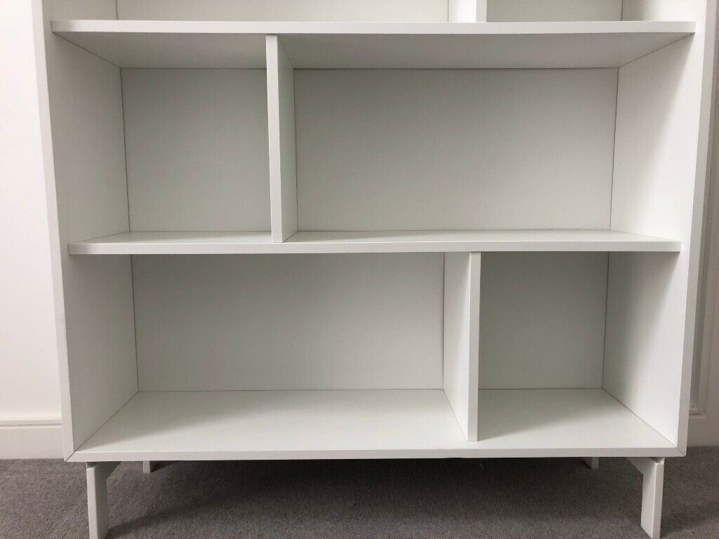 low priced 38730 95e9f Large White Sturdy Bookshelf - Excellent condition | in Stratford, London |  Gumtree