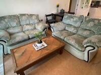 Sofa and coffee table