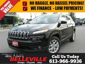 2017 Jeep Cherokee North PKG - Back UP Camera - TOW PKG