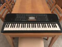 Casio CTK touch response keyboard with built in speakers and outputs