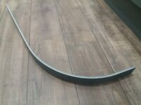 Cooke and Lewis Earthstone black star curved worktop edge