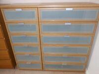 Ikea Oak Drawers for Bedroom