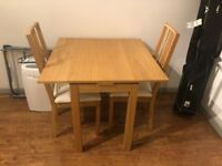 Ikea dining table + chairs