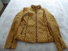Ladies warm quilted jacket