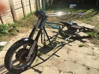 Unregistered Trike Frame Project - swap for 125