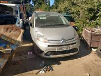 Citroen c4 grand picasso spare or repare
