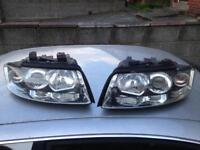 AUDI A4 B6 HEADLIGHTS BREAKING FULL CAR