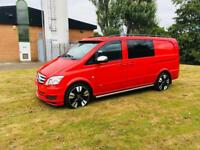 Mercedes Vito sport brabus automatic 3.0 v6 5 seater dualiner 12 reg finance available no vat