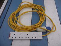 camping mains cable