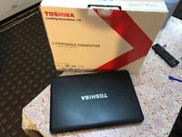 Super fast intel i3 Toshiba sat C660 boxed amazing deal no offers