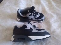 Toddler boys Nike air Max trainers size UK 7.5