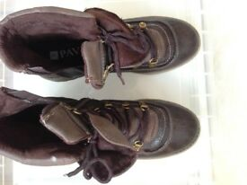 Winter Boots Never used good quality - Pavers size 39.