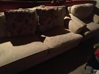 Clean sturdy sofa and chair-free