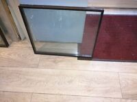 2 Doubled Glazed Glass Panels