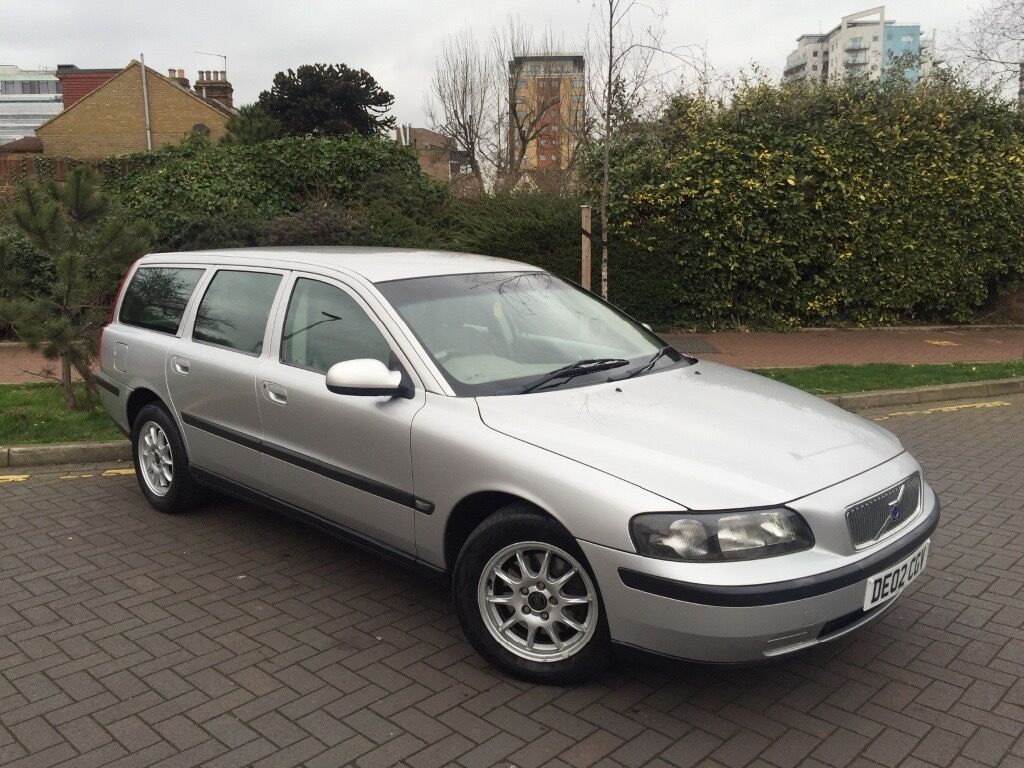 2002 volvo v70 2 4 torslanda auto all extras one years mot