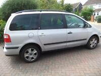 FORD GALAXY TDI AUTOMATIC 155-000 MILES MOT TILL NOV 2018 GEARBOX NEEDS ATTENTION SPARES OR REPAIR