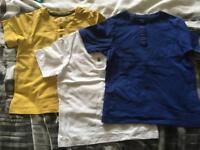 3 tshirts boys 4 years