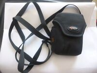 Small carrying case for digital camera.
