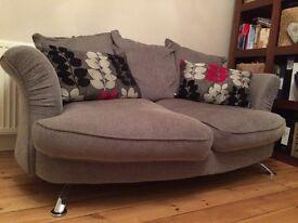 Large and Medium Grey Sofa