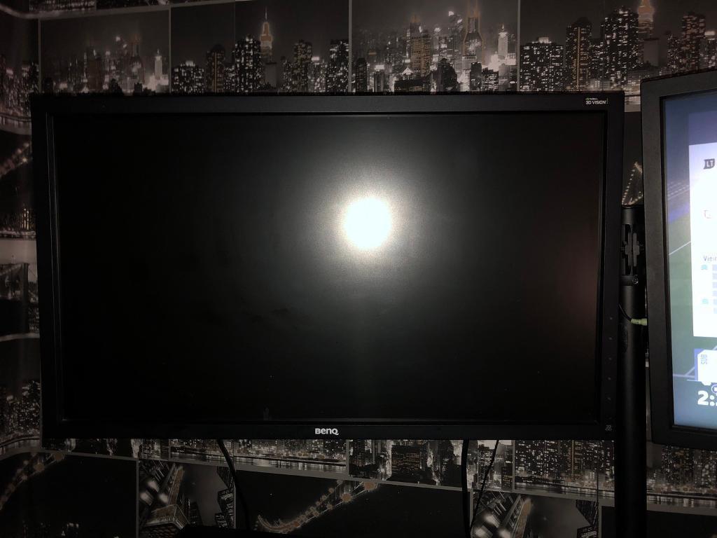 BenQ XL2720Z 27 inch 144 Hz e-Sports Gaming Monitor x2
