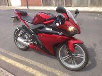 Yamaha r125 stunning bike